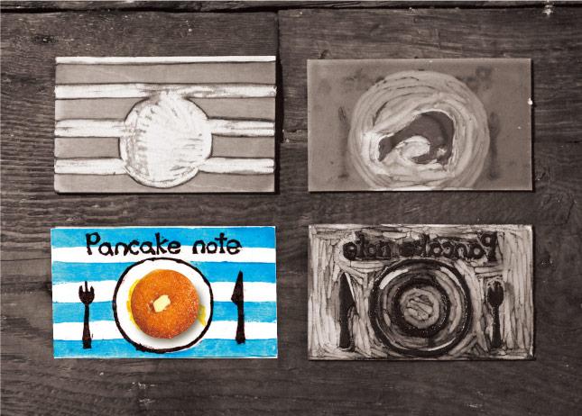 HANTO 食用色素版画パッケージ02