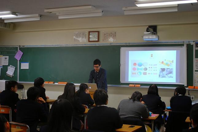都立翔陽高等学校 キャリア教育プログラム01.
